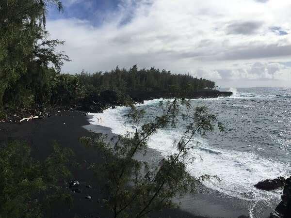 Kehena Beach Pahoa Hawaii