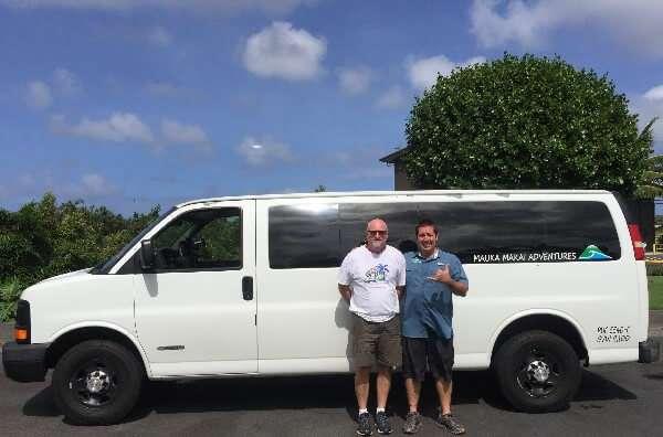 Mauka Makai Adventures Mini Van
