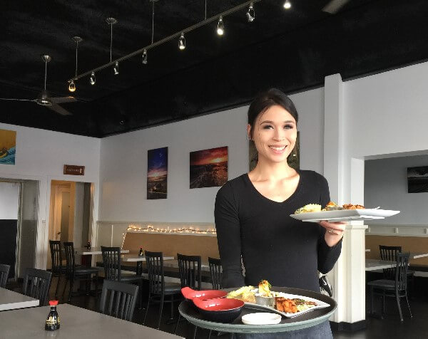Ocean Sushi Server Hilo