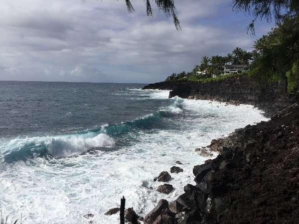 Pahoa Hawaii coast