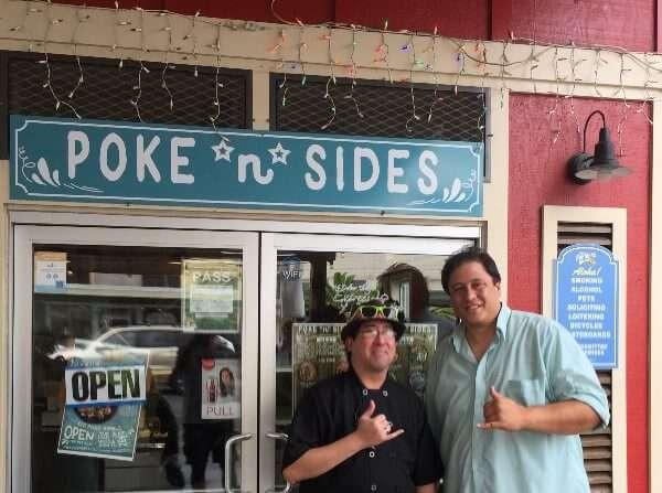 Poke N Sides Hilo Hawaii