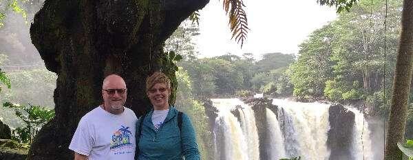 Rainbow Falls Lookout Hilo Hawaii