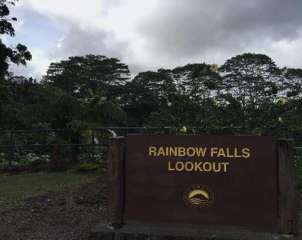 Rainbow Falls Lookout Hilo