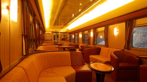 The Ghan Gold Service Lounge