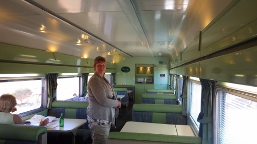 The Ghan Red Service Restaurant
