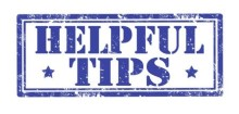 Helpful Tips Banner