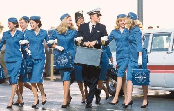 Retro Pan-Am Stewardesses