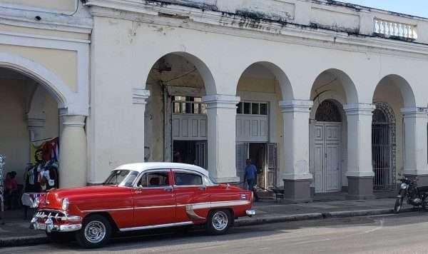 Classic Car Cienfuego Cuba