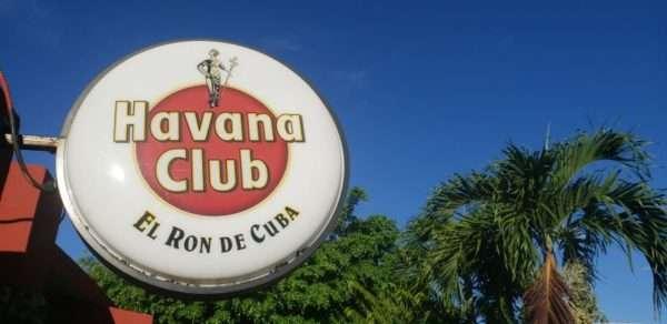 Havana Club Rum Sign