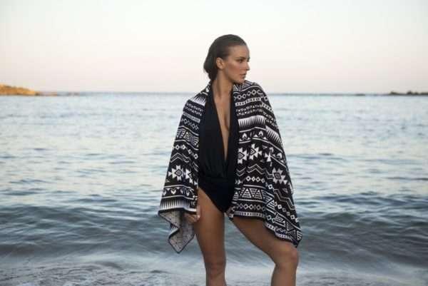 Sand Free Beach Towel Acapulco Design