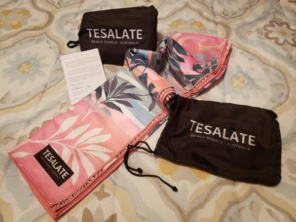 Tesalate Beach Towels with Pouch