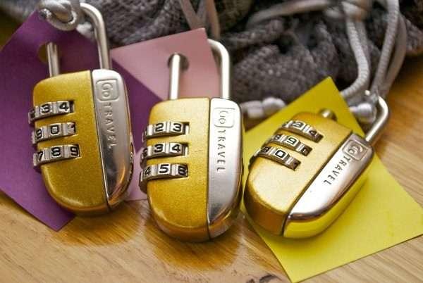 locks for luggage