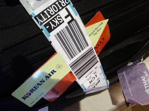 Airline Baggage Tag