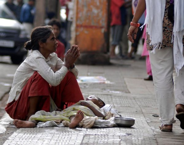 Begging Scams in India