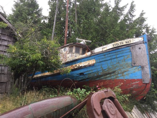 Retired Fish Boat