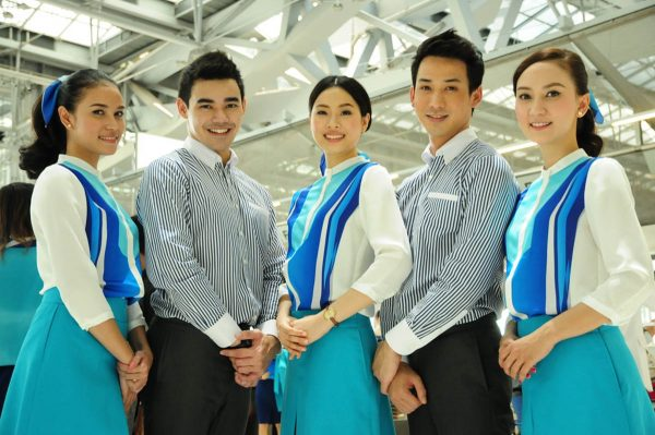 Bangkok Airways Flight Attendants