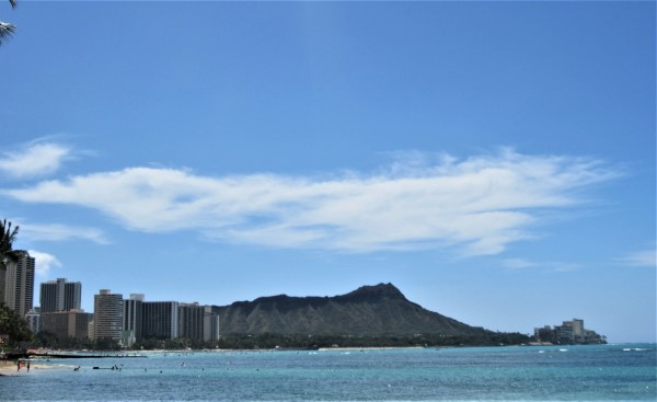 Beautiful Waikiki Beach Oahu Hawaii