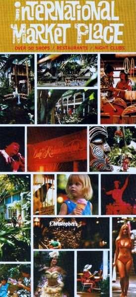 International Market Place Postcard