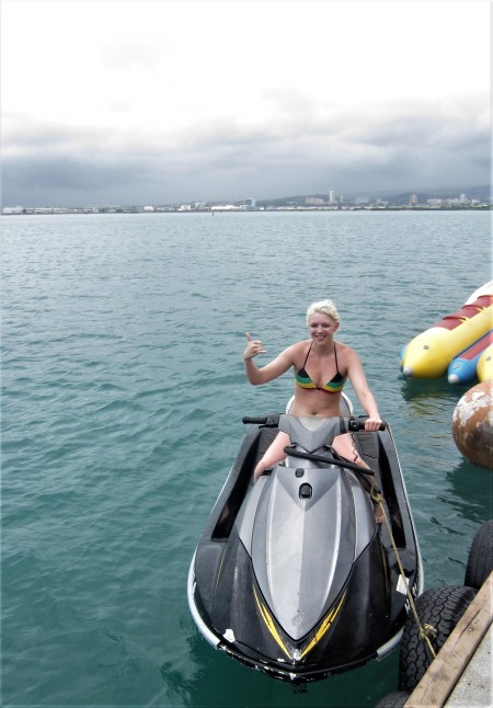 Jet Skiing In Oahu Hawaii