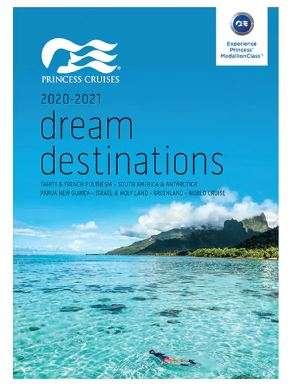 Princess Cruises Dream Destinations