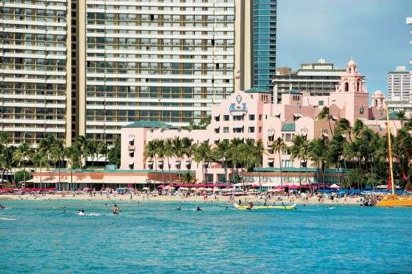 Royal Hawaiian Hotel Waikiki Beach