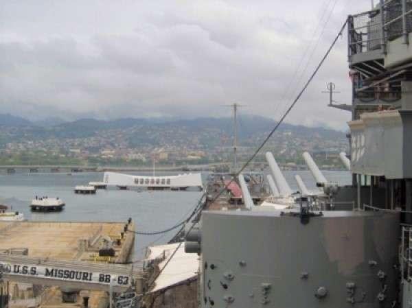 U.S.S. Missouri Tour Pearl Harbor