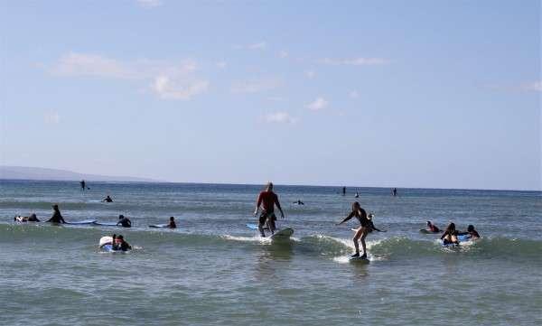 Waikiki Hawaii Surfing