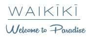 Waikiki Welcome to Paradise Logo