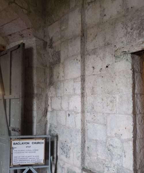 Baclayon Historical Church Bohol Philippines