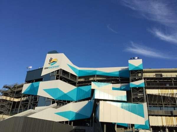 ISM Raceway Grandstands