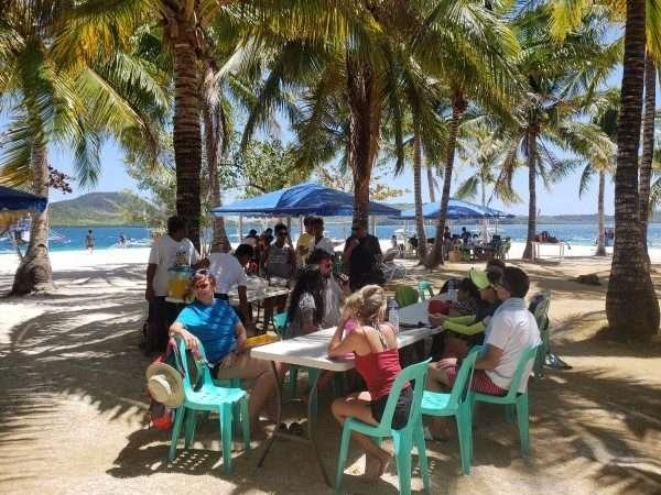 Pass Island Buffet Lunch