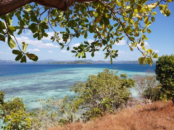 Pass Island Coron View