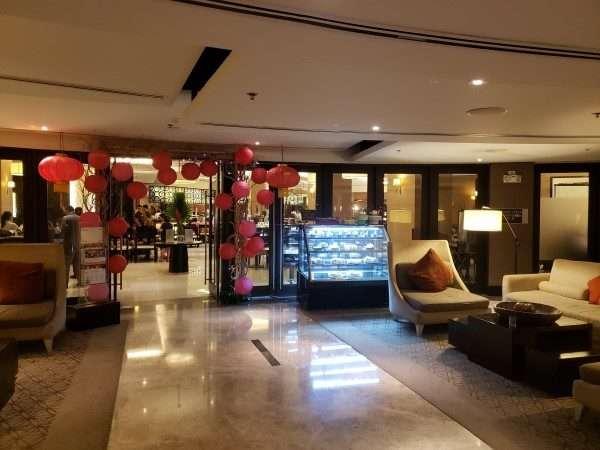 Quest Hotel Cebu Buffet Entrance