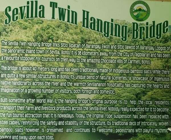 Seville Twin Bohol Suspension Bridge