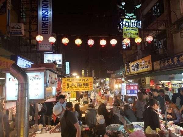 Taipei Raohe Street Night Market Vendors