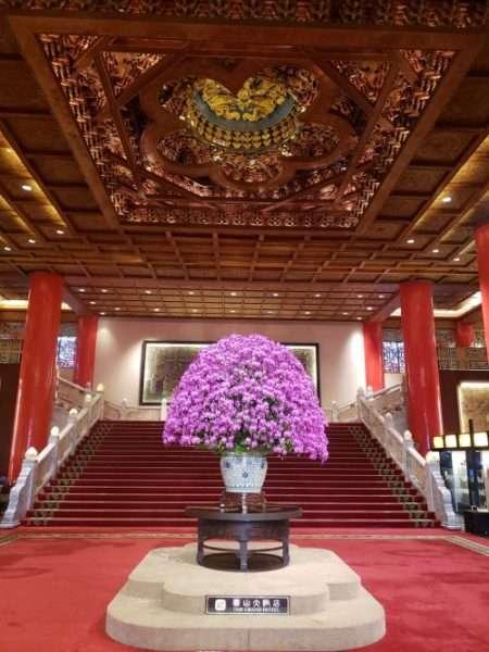 The Grand Hotel Taipei Lobby