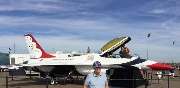 U.S. Air Force Display Phoenix Raceway