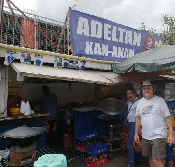 nilarang fish soup vendor