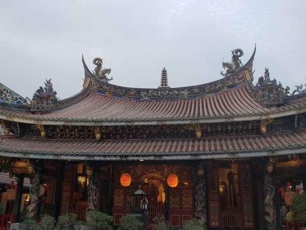 the Bao'an Temple Taipei