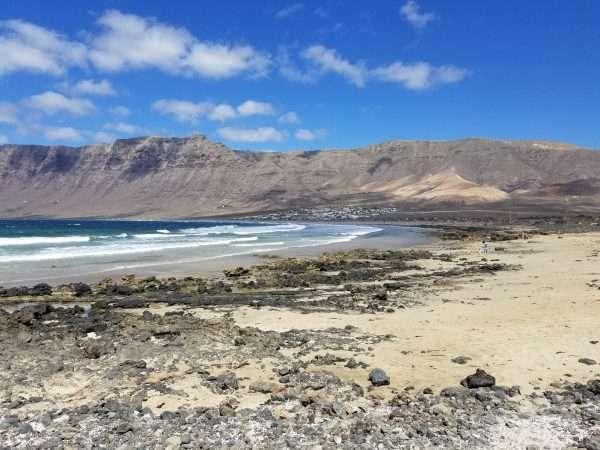 Playa De Famara Lanzarote