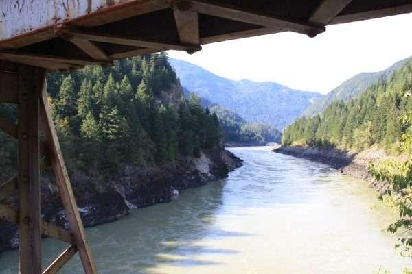 Alexandra Bridge Fraser River BC
