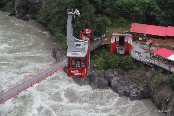 Hell's Gate Airtram British Columbia