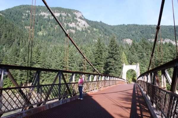 Historic Alexandra Bridge Fraser Canyon BC