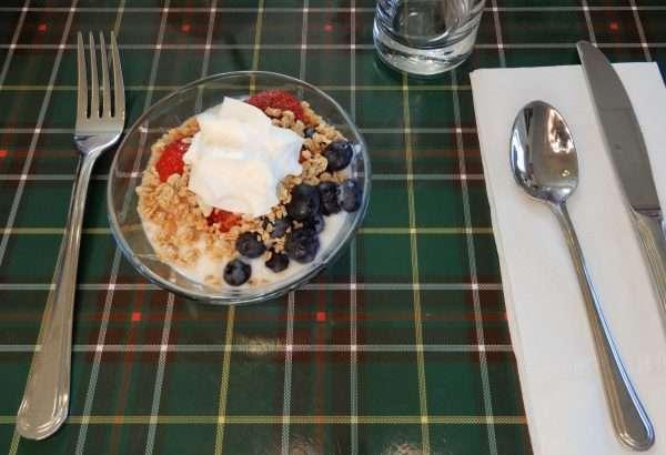 Inn On Capelin Bay Breakfast Selection