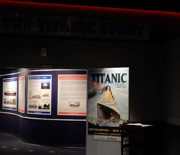 Johnson GEO CENTRE Titanic Exhibit