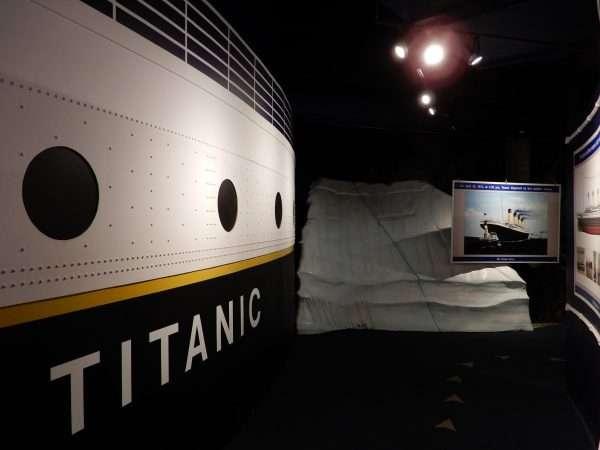 Johnson GEO CENTRE Titanic Exhibits