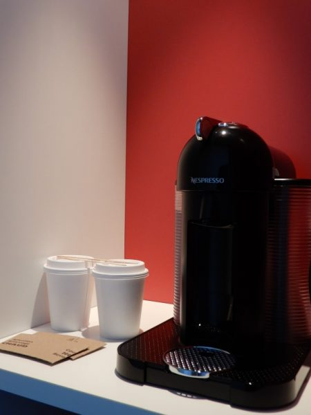 Alt Hotel Montreal Guest Room Coffee Maker