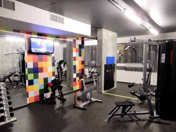 Alt Hotel Montreal Quebec Fitness Room