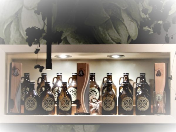 Brasserie Koriganne Craft Beer Display