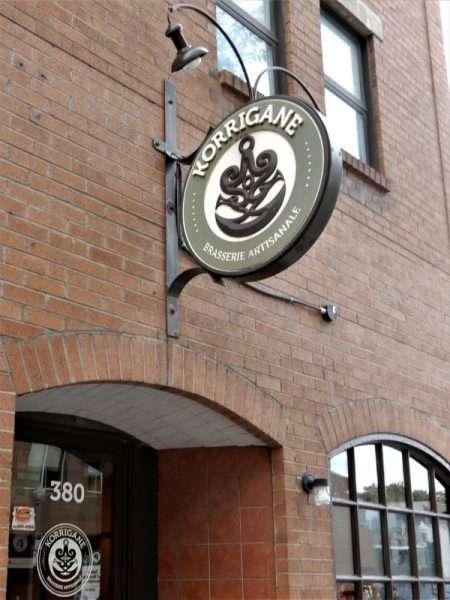 Brasserie Koriganne Sign